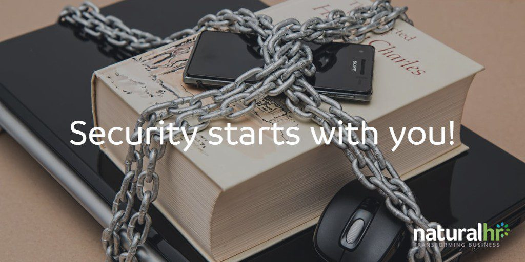security starts with you