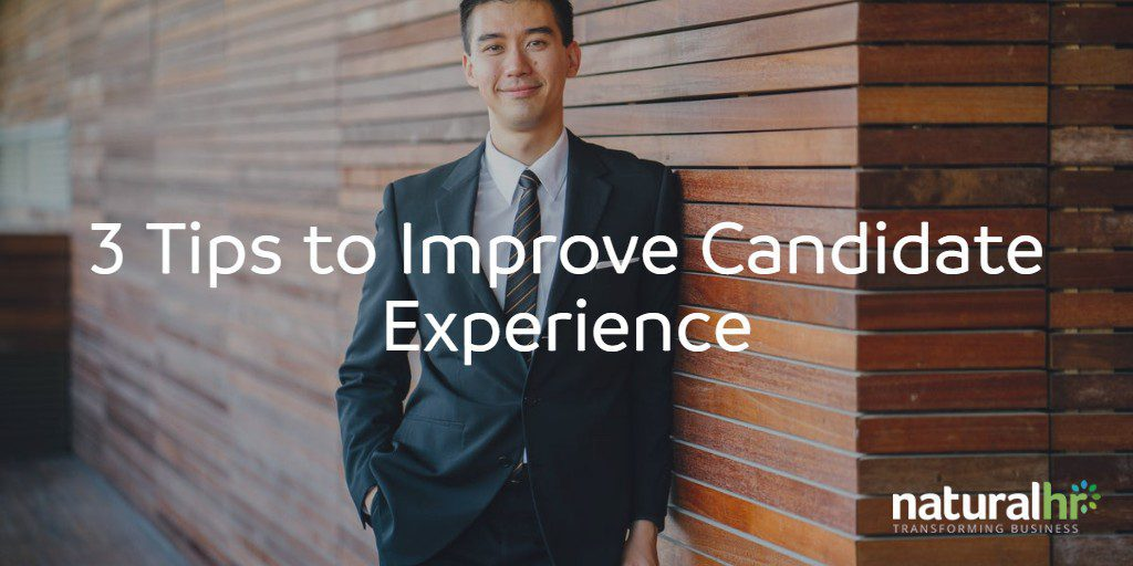 3 ways to improve candidate experience