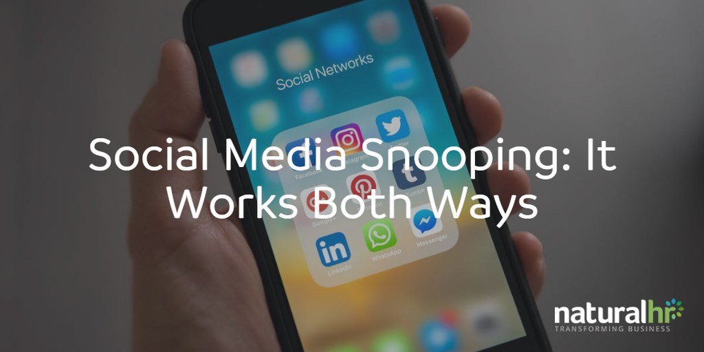 social media snooping
