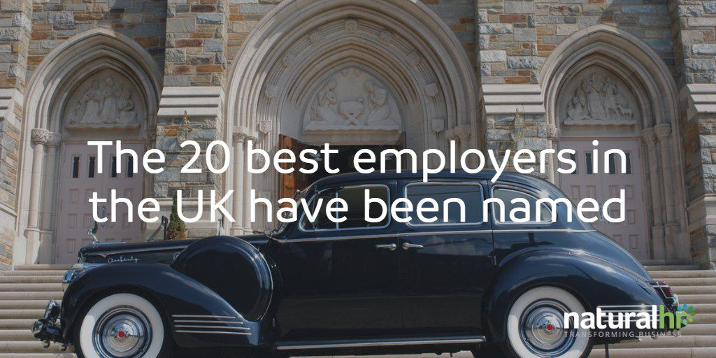20 best employers in the uk
