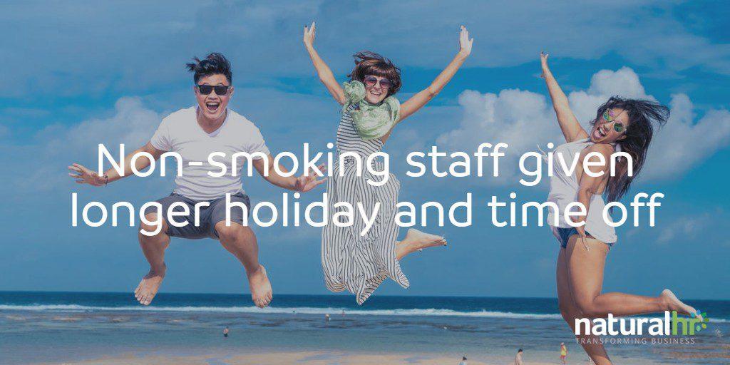 non-smoking staff holidays