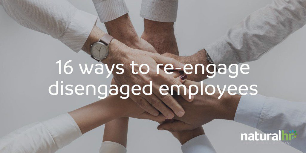 re-engage employees