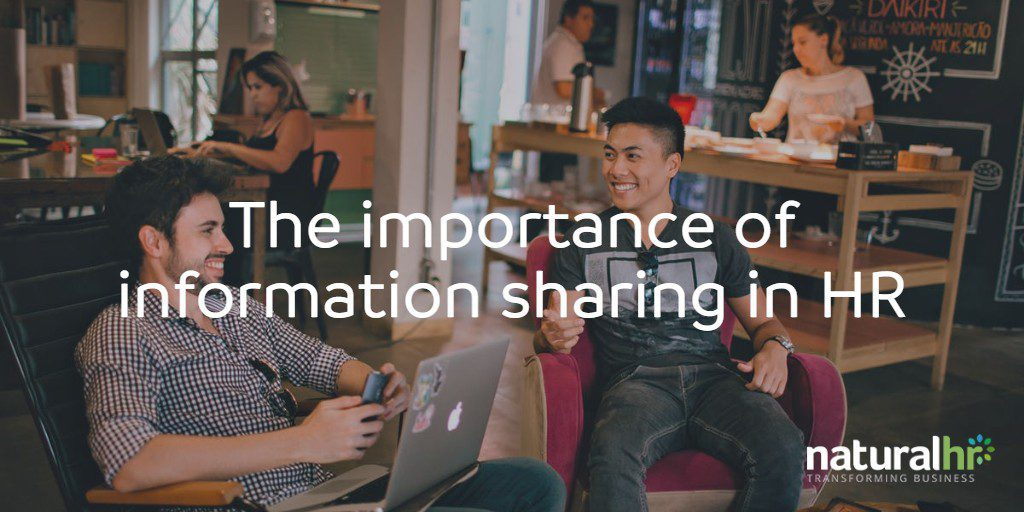 The importance of information sharing in HR