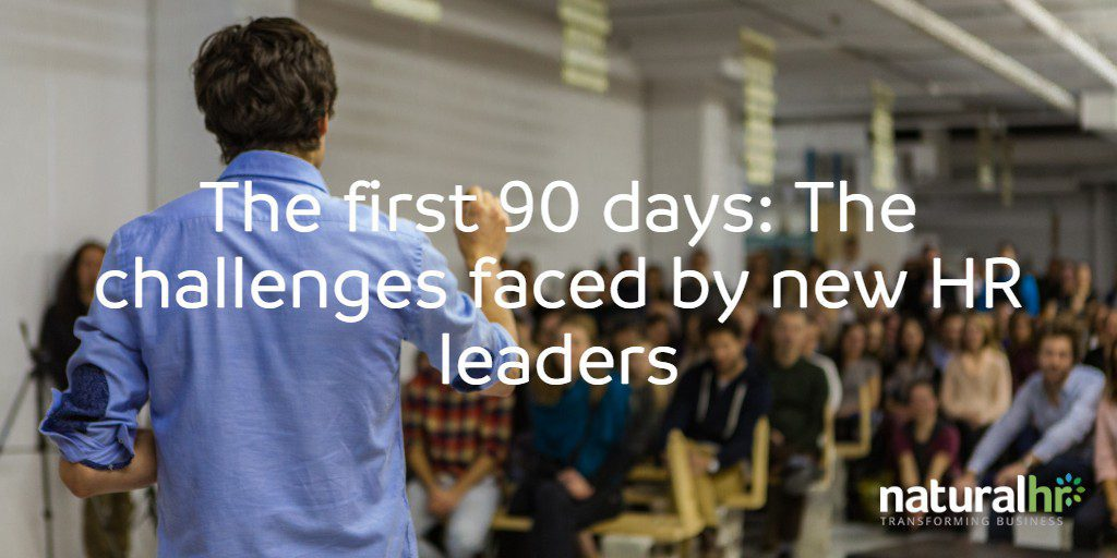 The first 90 days_ The challenges faced by new HR leaders