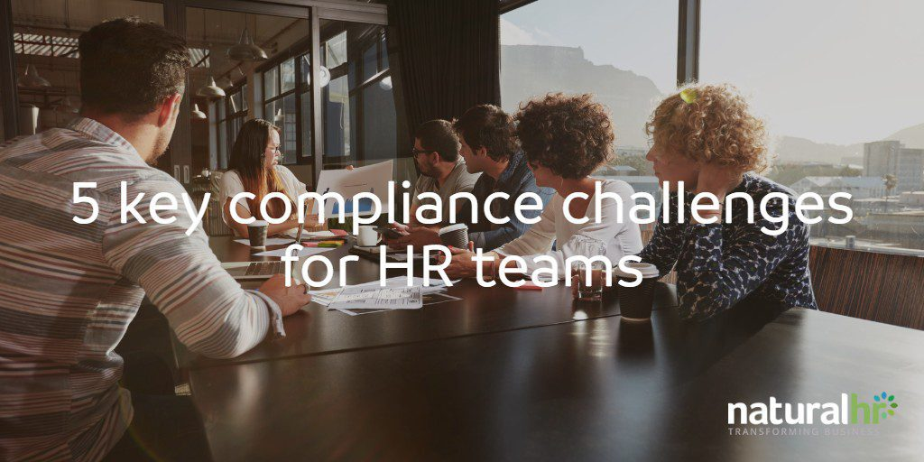 5 key compliance challenges for HR teams