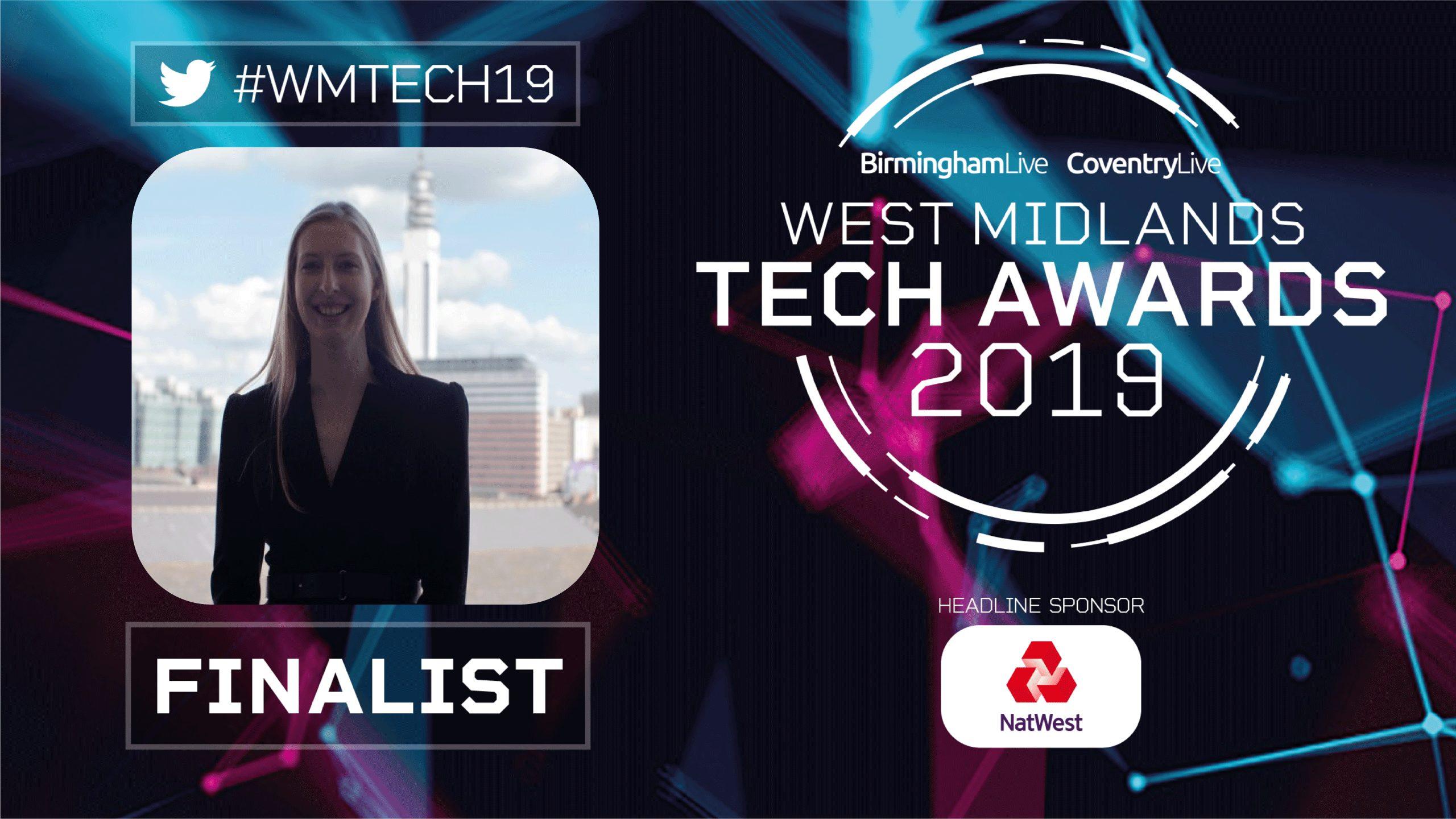 West Midlands Tech Awards Finalist 2019 Natural HR