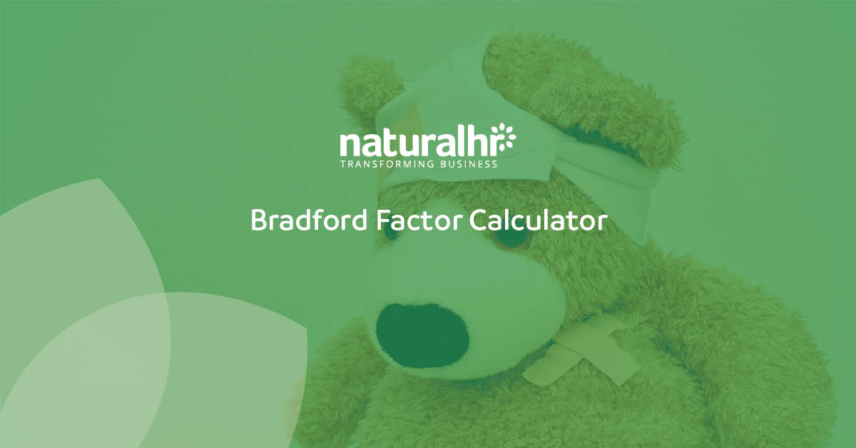 the bradford factor calculator