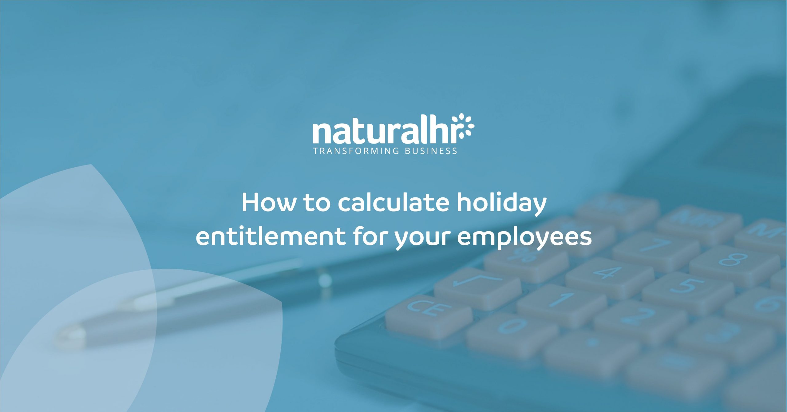 How to calculate holiday entitlement for your employees