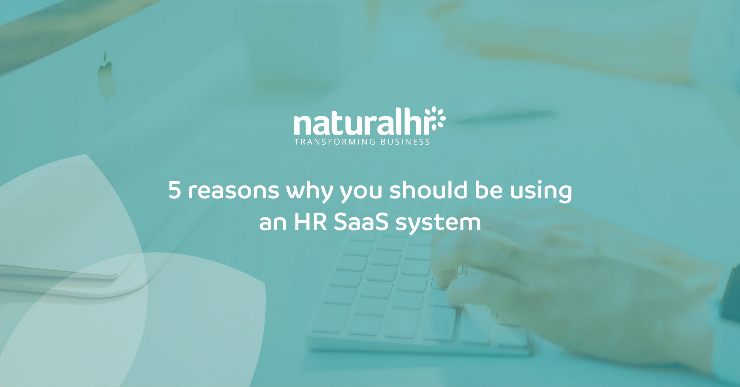 Why should you be using an HR SaaS system?