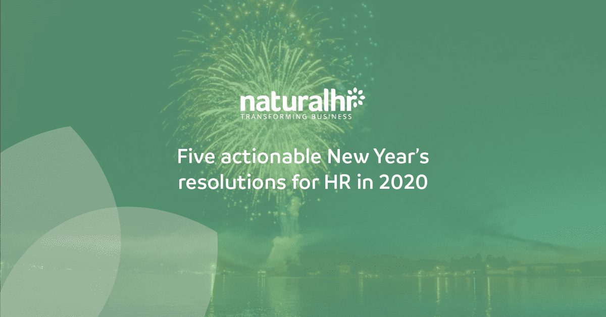 Actionable resolutions for HR in 2020
