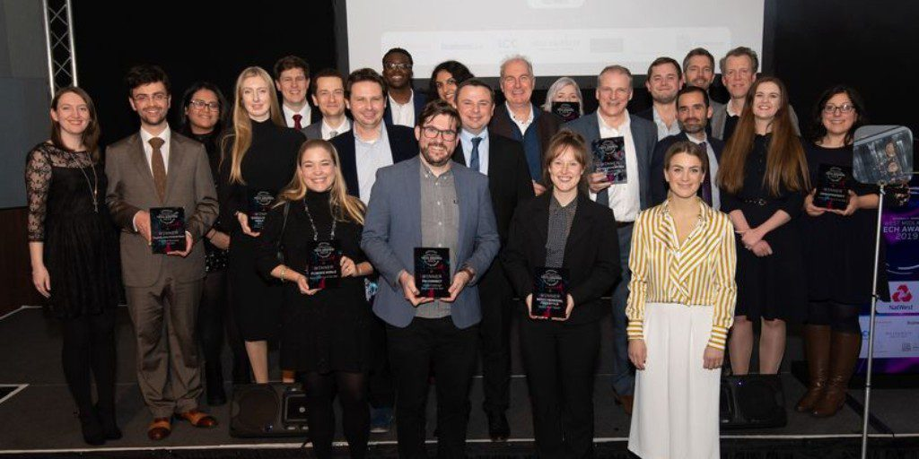 West Midlands Tech Awards 2019 Category Winners
