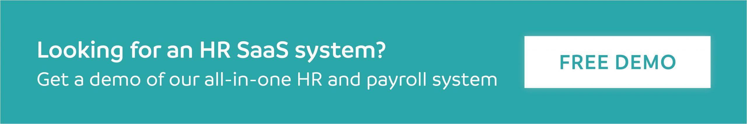 HR SaaS systems