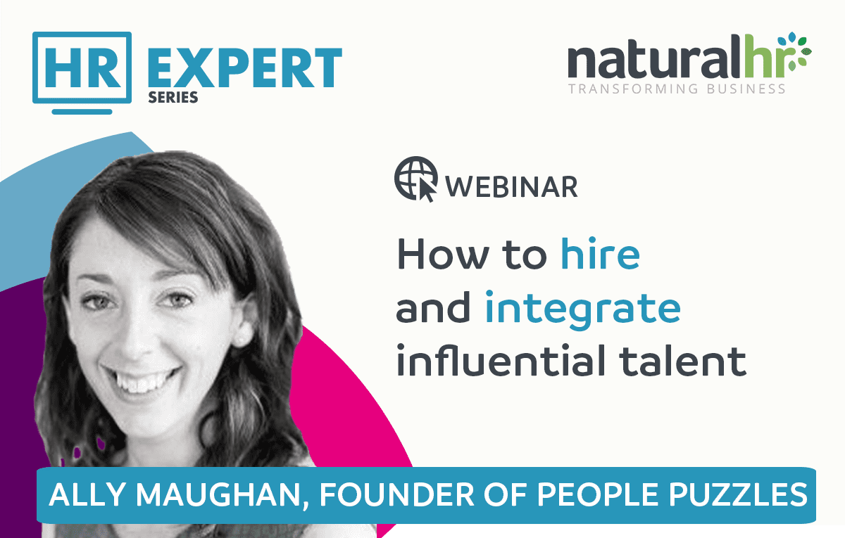 Founder of People Puzzles and returning HR Expert guest, Ally Maughan explores how to hire and integrate talent