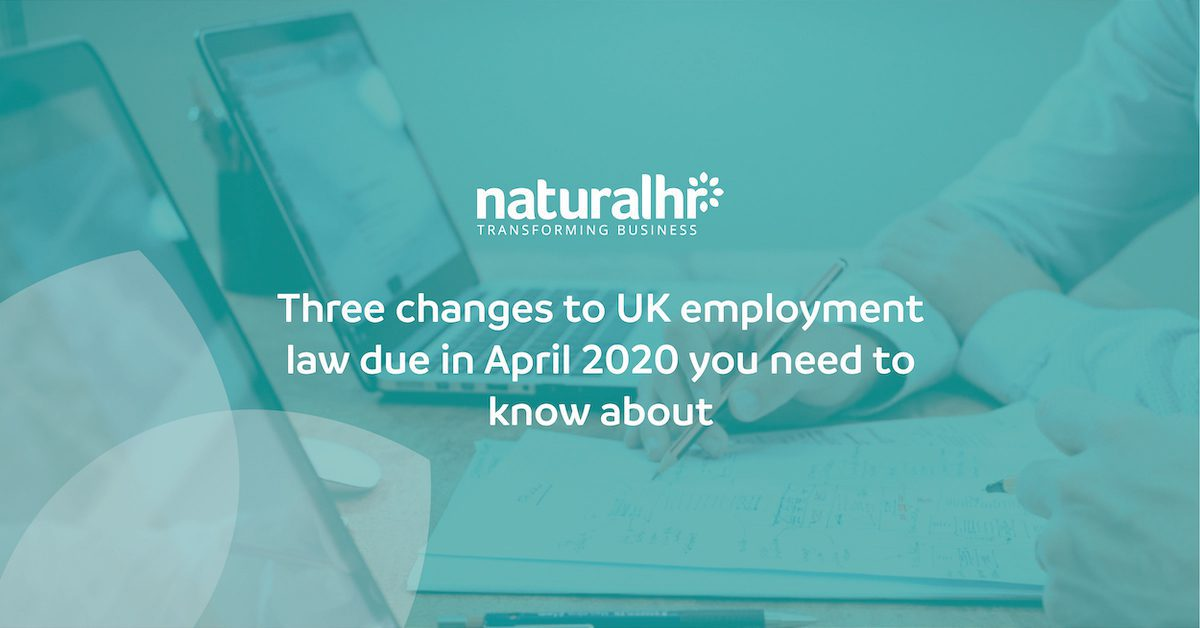 2020 UK employment law changes