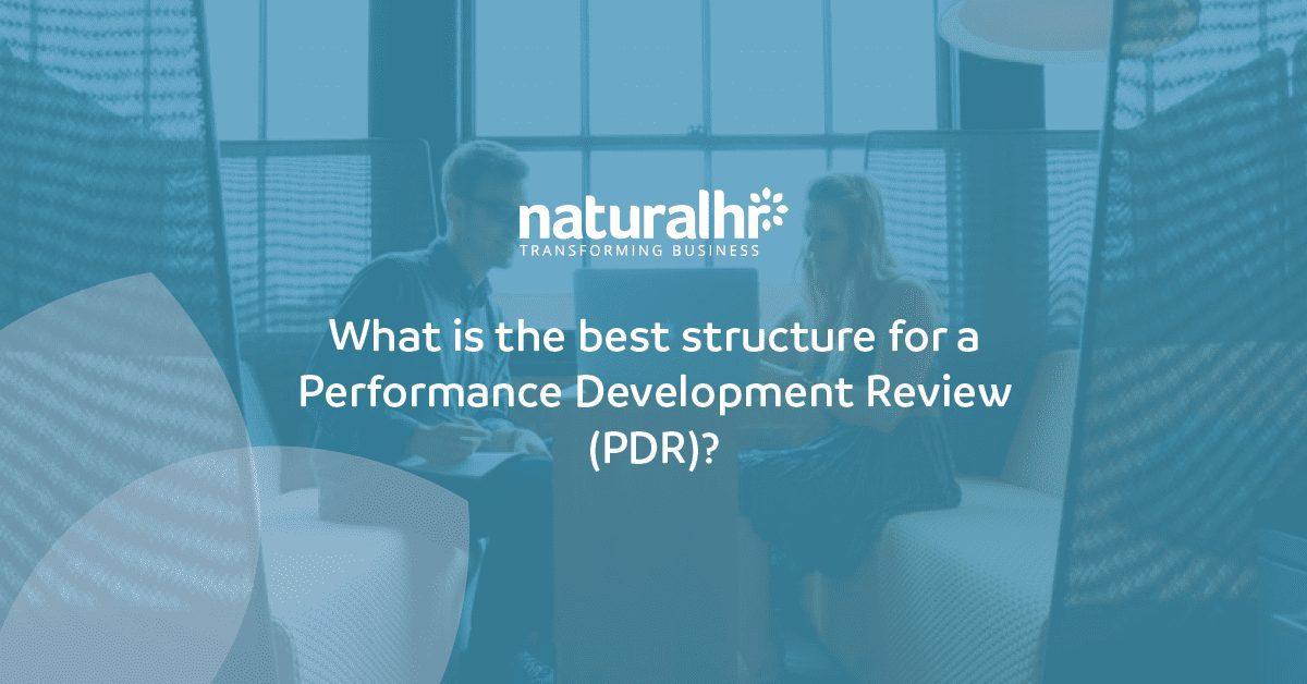 Performance development review