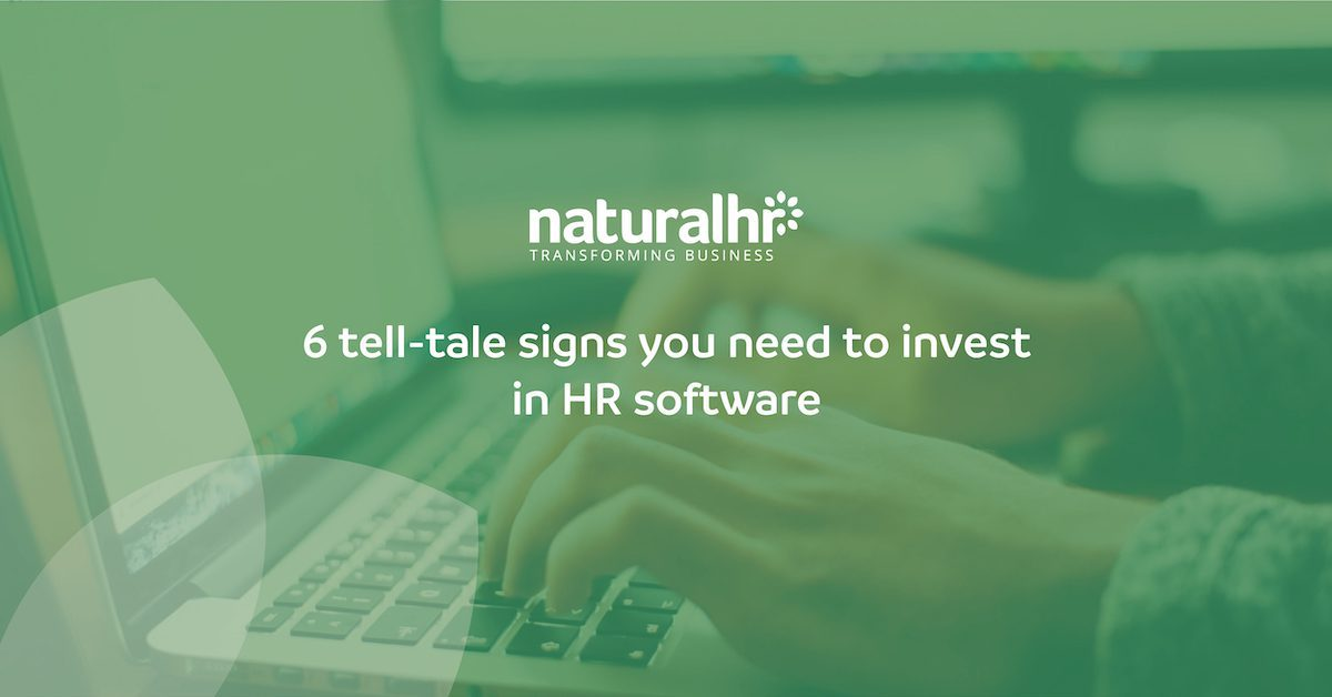 signs you need hr software