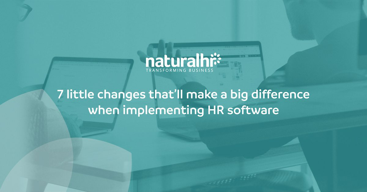 HR software implementation
