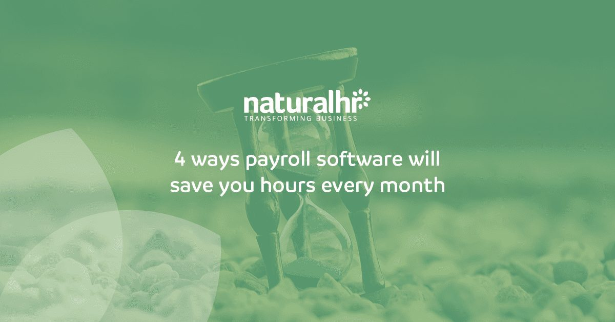 BLOG - 4 ways payroll software will save you hours every month