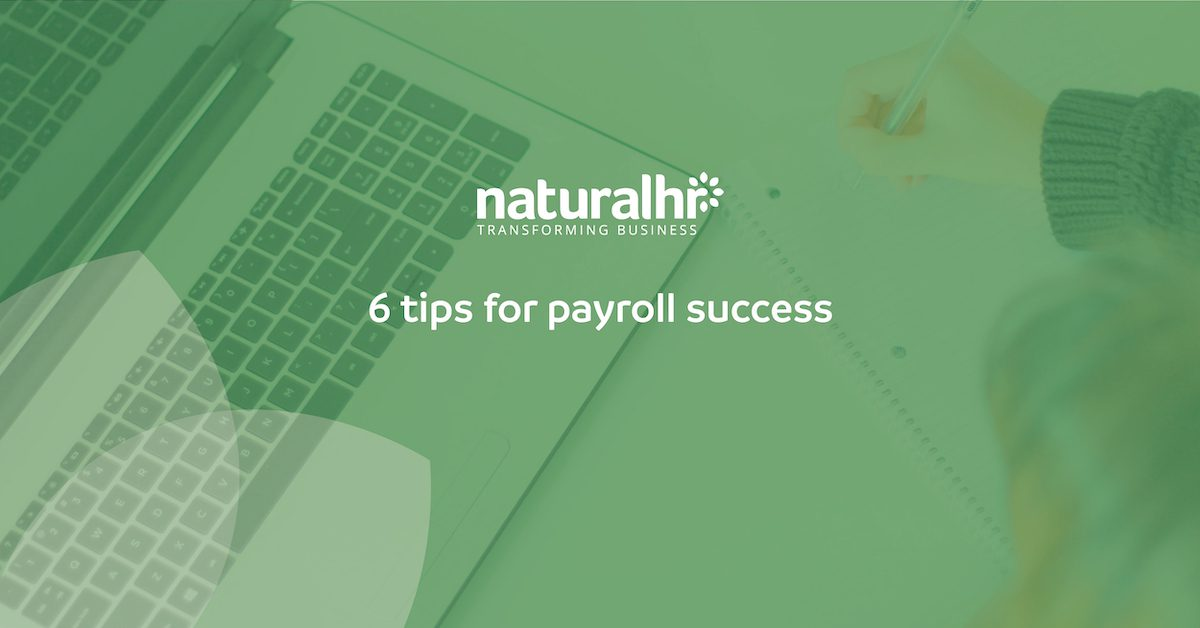 6 tips for payroll success
