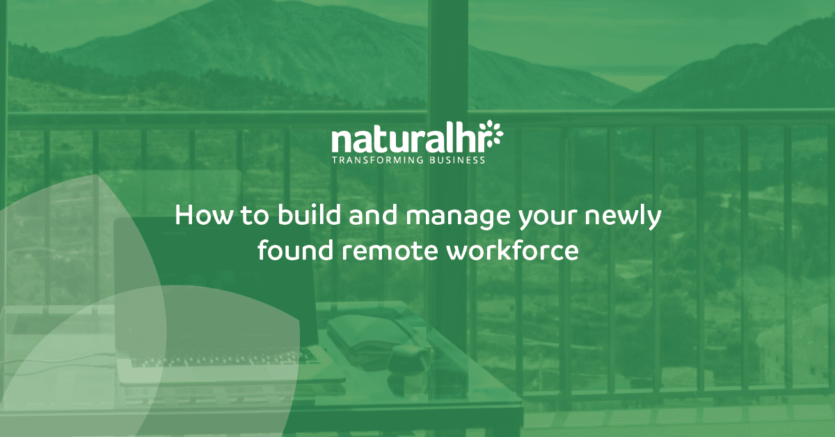 Laptop showcasing remote working