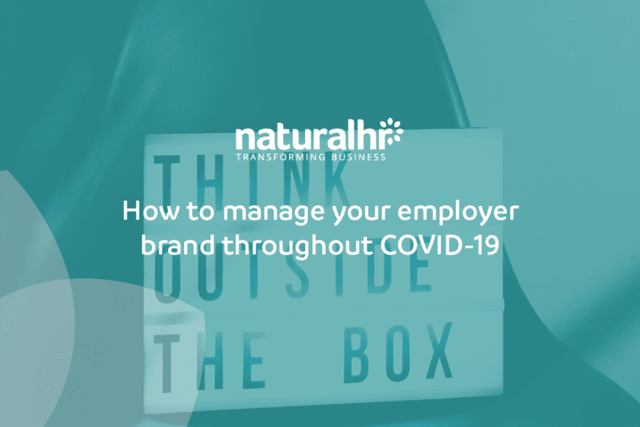 Managing employer branding throughout COVID-19