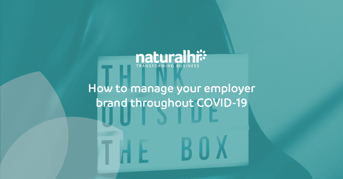 Managing employer branding throughout COVID-19
