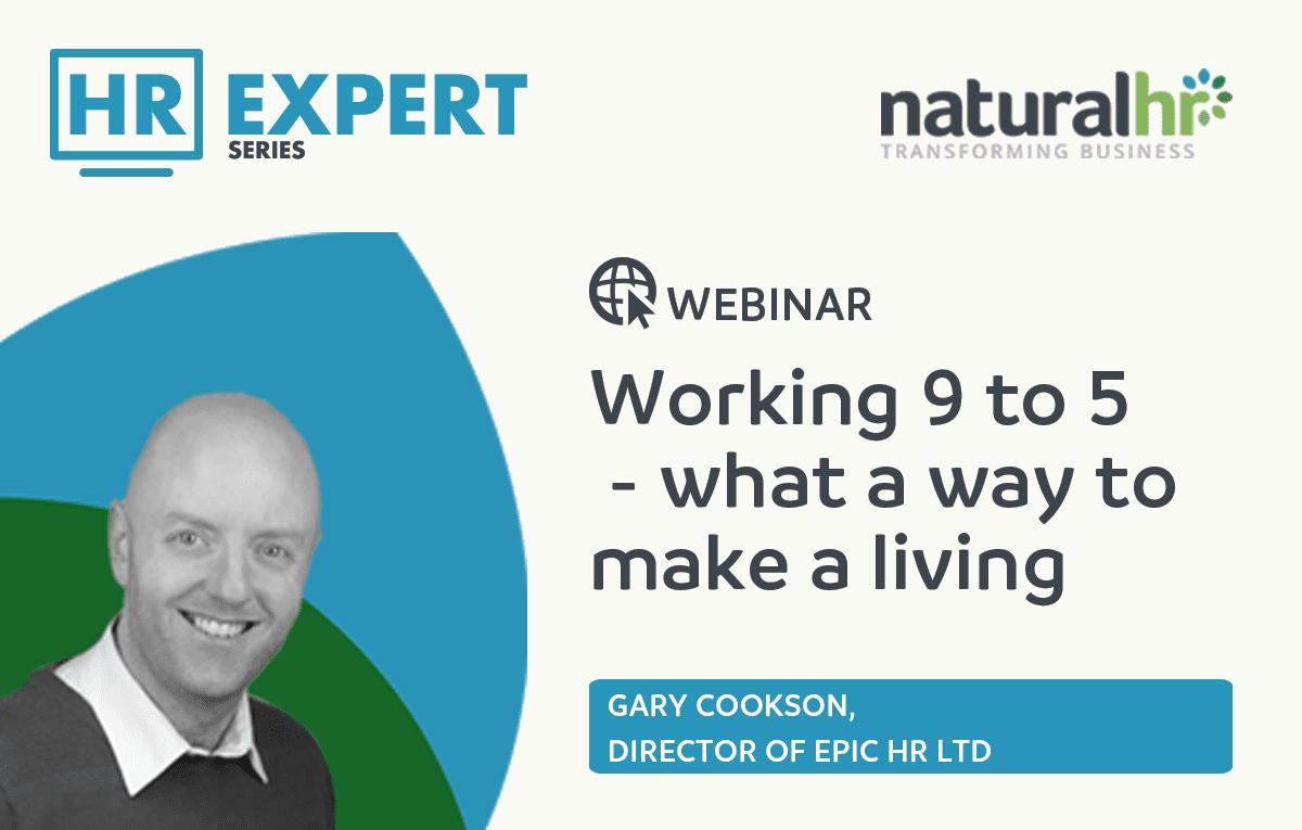 Gary Cookson HR webinar