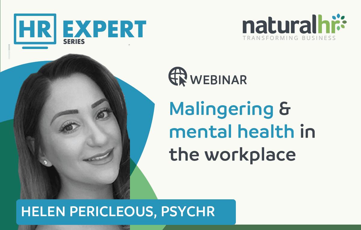 Helen Pericleous HR webinar