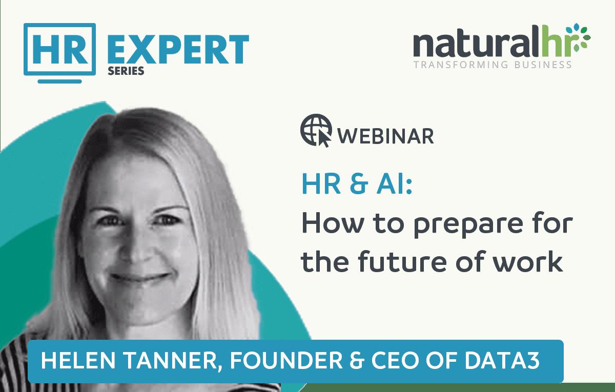 Helen Tanner HR webinar