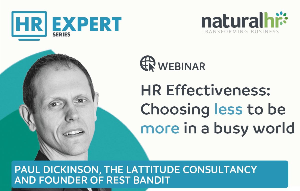 Paul Dickinson HR webinar