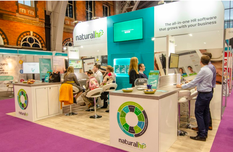 Natural HR CIPD stand