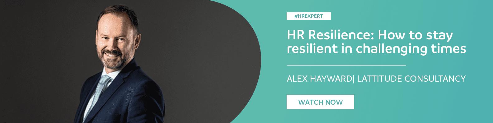 HR Expert Webinar Recording: HR Resilience