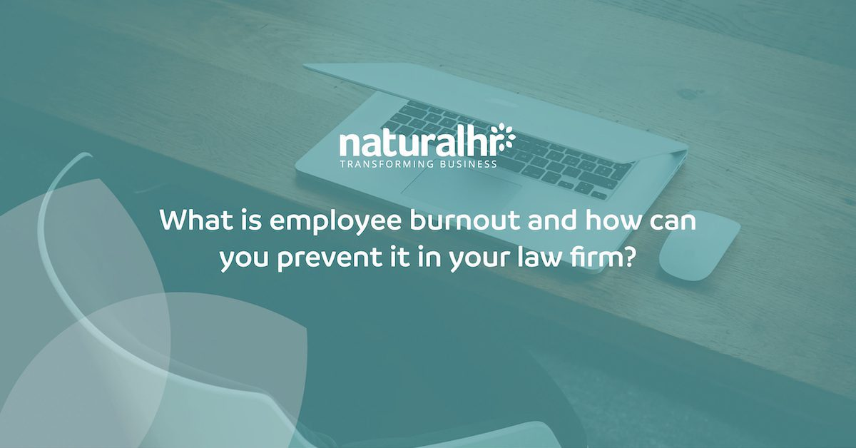 employee burnout in law firms