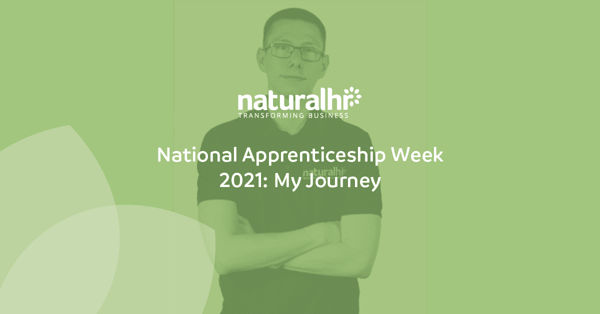 National Apprenticeship Week 2021: My Journey