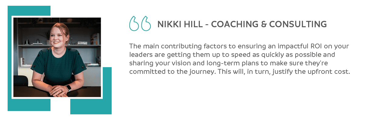 HR Expert, Nikki Hill quote on leadership transitions