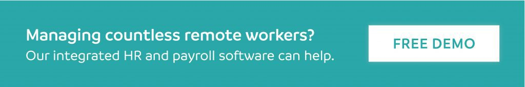 HR Software remote employees CTA