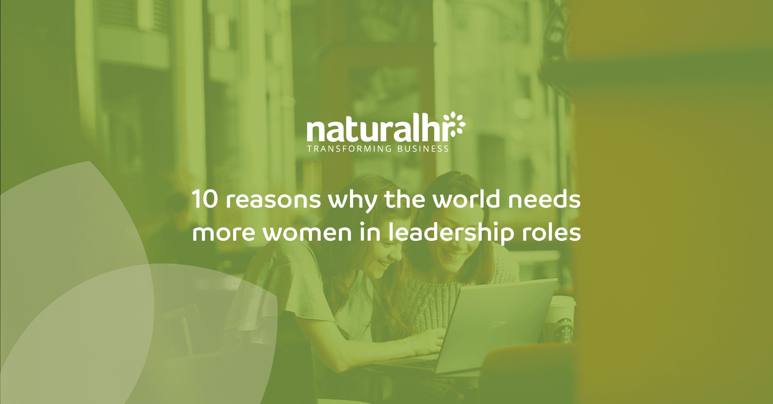 10 reasons why the world needs more women in leadership roles