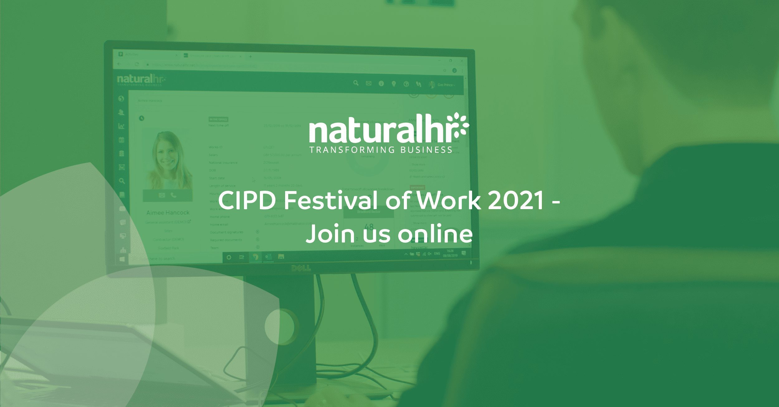 Join Natural HR at CIPD's digital Festival of Work 2021