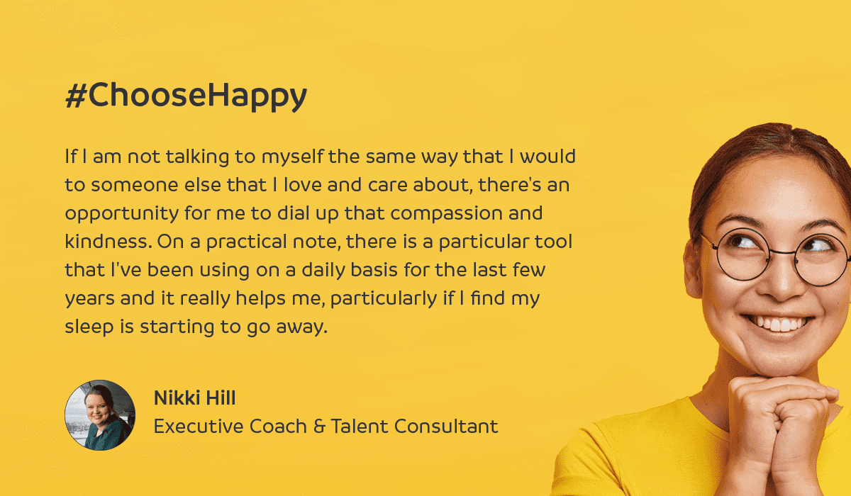 Executive coach, Nikki Hill on how to reduce stress and anxiety