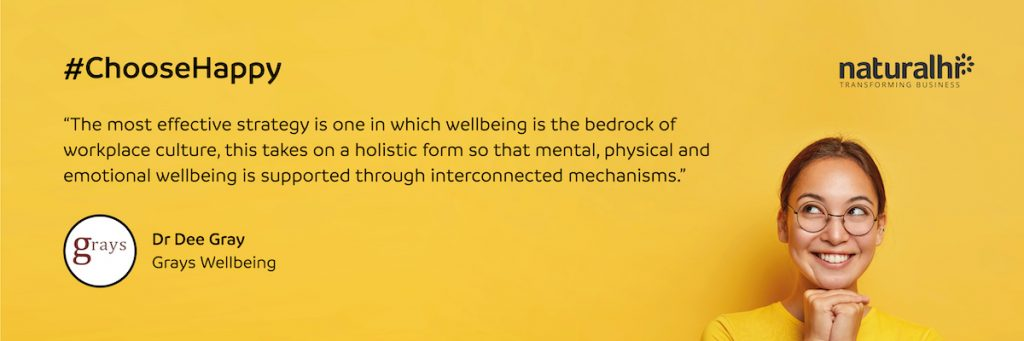 Grays Wellbeing quote