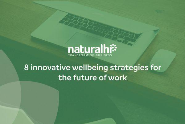 Innovative wellbeing strategies