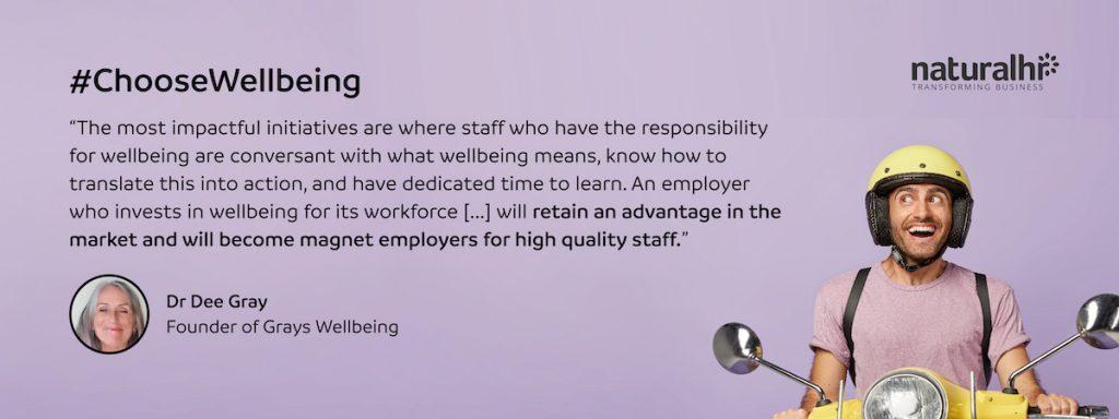 Employee wellbeing initiatives