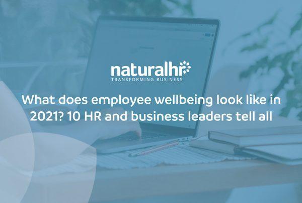 Employee wellbeing in 2021